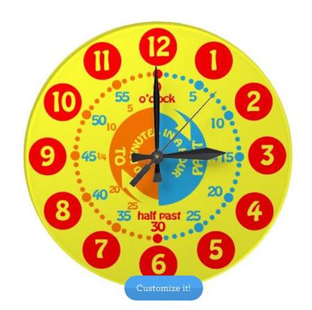 Cute Wall Clocks For Kids Rooms Hometone Home Automation And - Wall clock for kids room