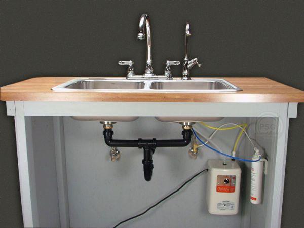 under sink hot water dispensers