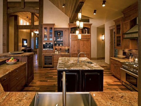 How to handle dcor when creating a rustic country style