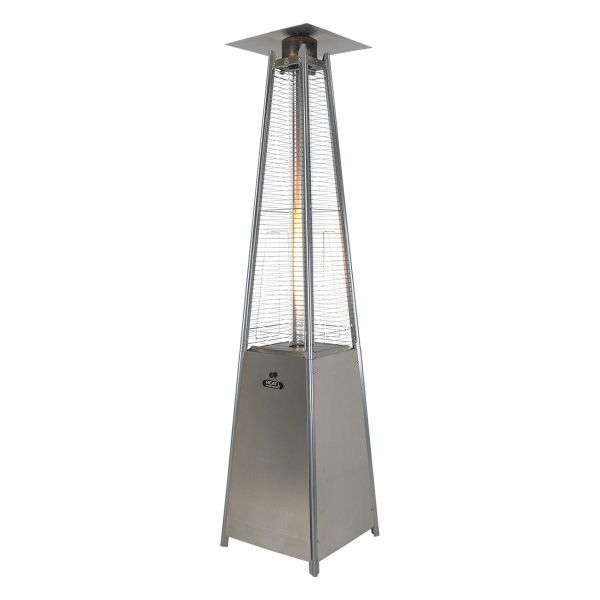 Athena Plus Stainless Steel Flame Gas Patio Heater