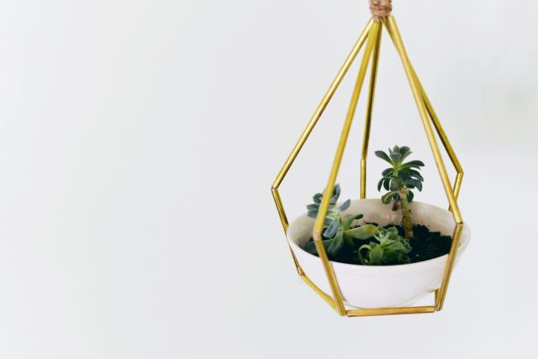 metallic-geometric-planter