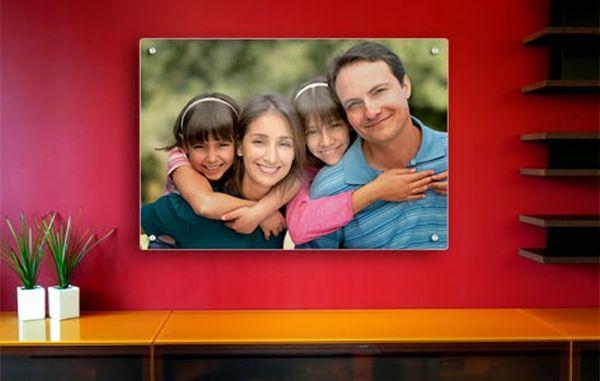glass made photo frame