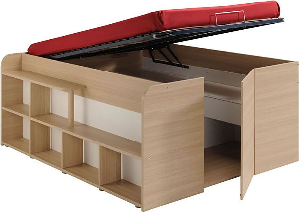 Cabin beds with storage