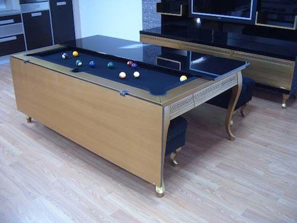 Pool cum dining table