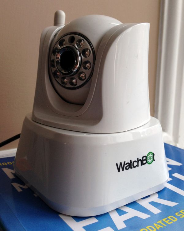 The Watchbot home security camera
