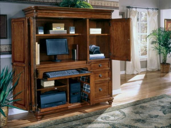 An armoire office