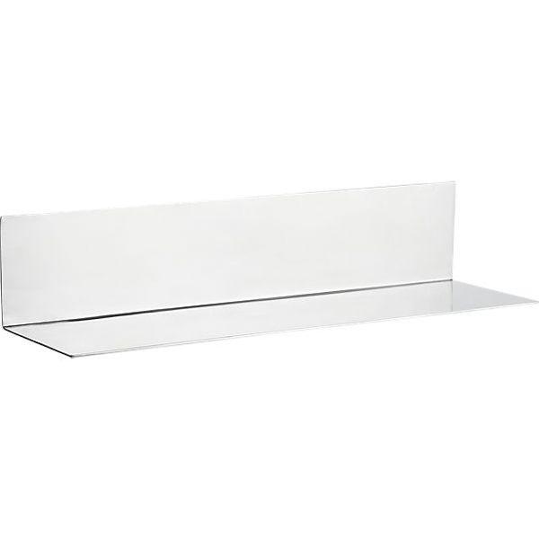 CB2 Sterling Wall Mounted Shelf