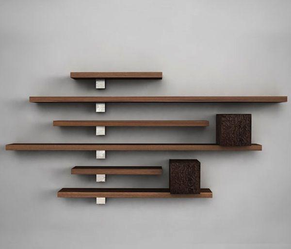 Bookracks and floating shelves