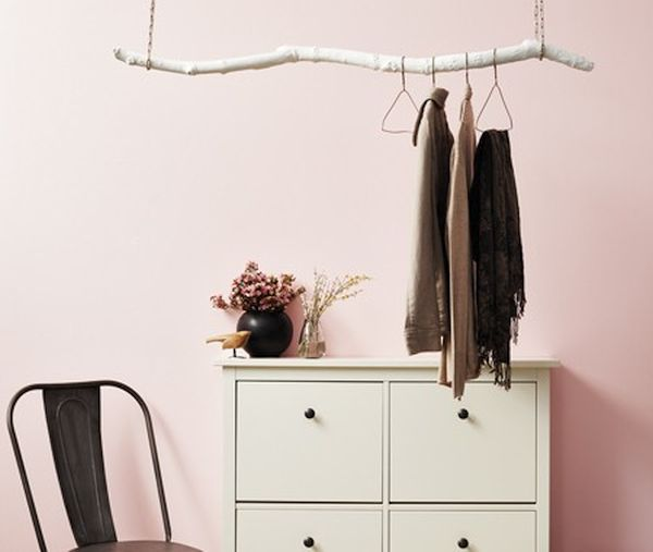Driftwood clothes hangers