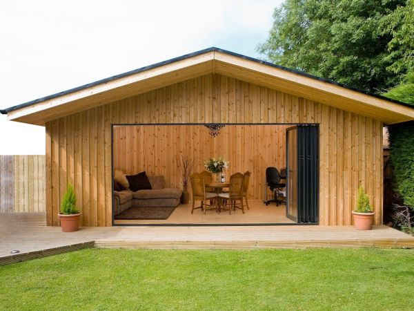 A Garage Not Just For The Car Garage Conversion Ideas