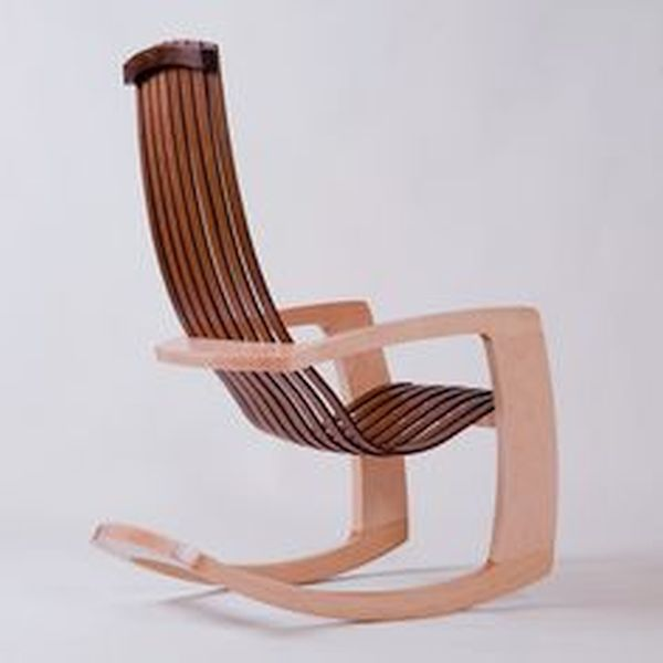 Modern Rocking chair by J. Rusten (1)