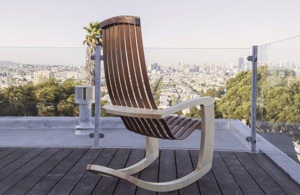 Rocking chair by J. Rusten (3)
