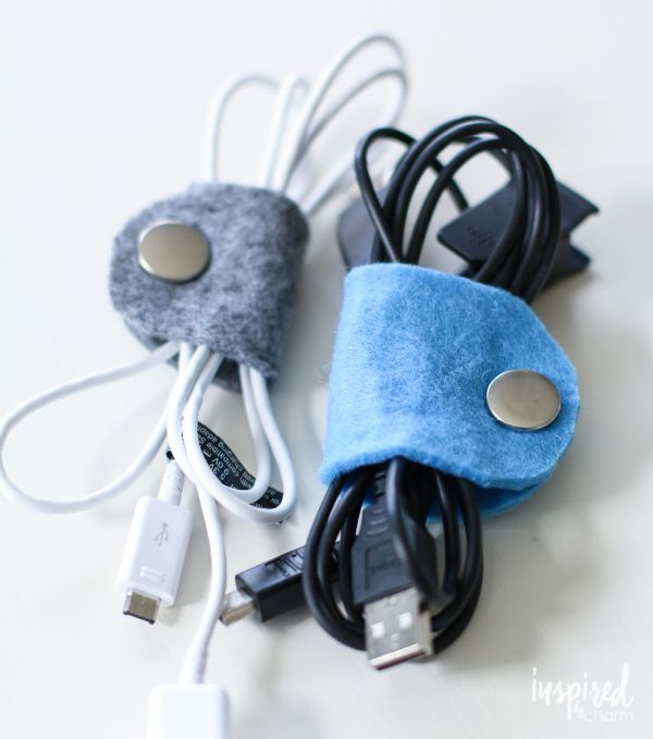 diy-felt-cable-organizers