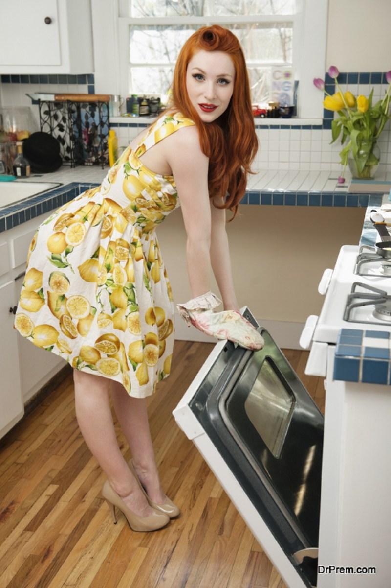 brown flooring in your kitchen