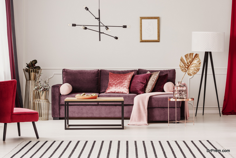 Add a Metallic Charm to Your Home Decor