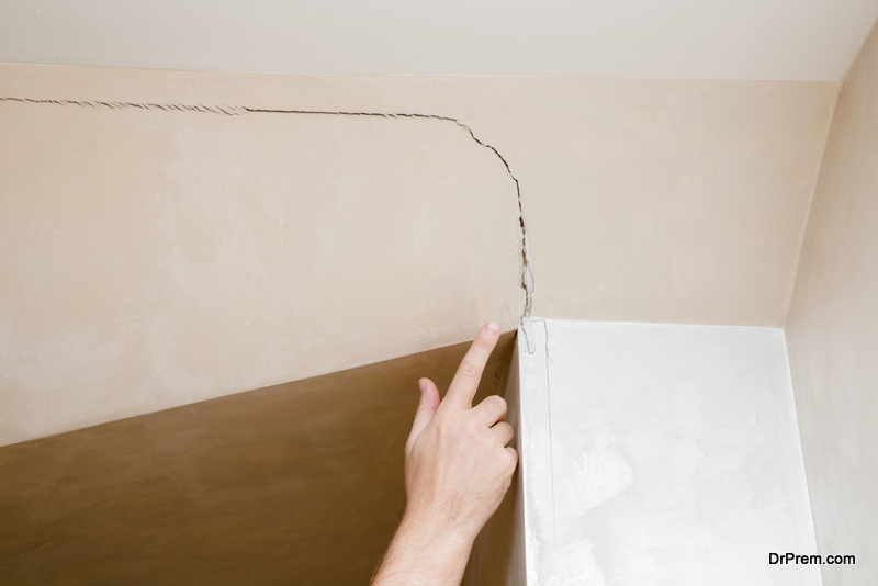 wall Cracking