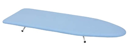 Tabletop Presswood Ironing Board Blue Cover