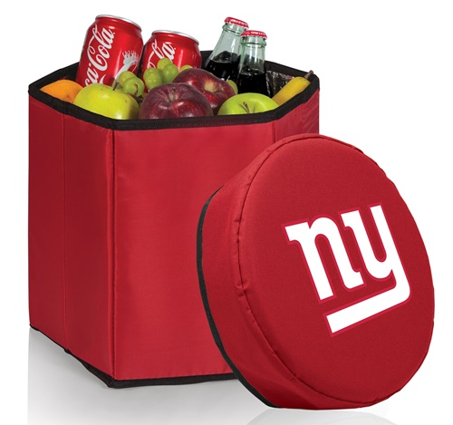 New York Giants Bongo Cooler Red