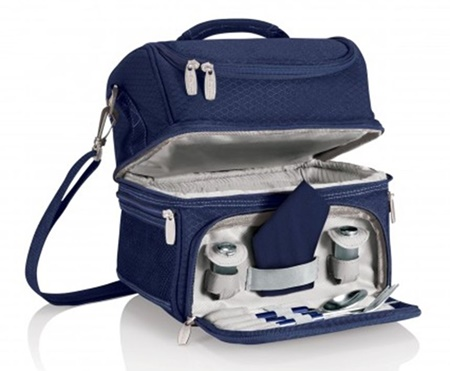 Pranzo Insulated Lunch Bag Tote Navy