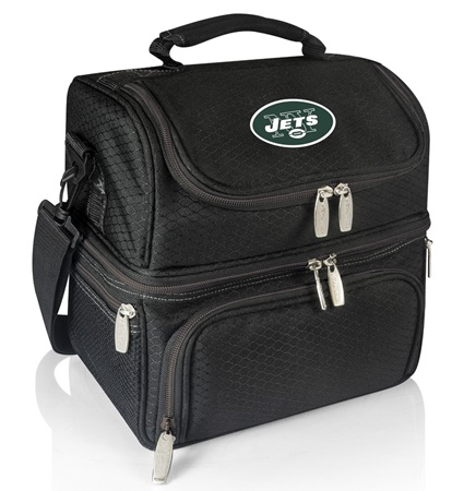 New York Jets Pranzo Insulated Lunch Bag Tote Black