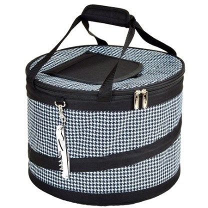 Picnic at Ascot 494-HT Pop-Up 24-12 oz Can Party Cooler Houndstooth