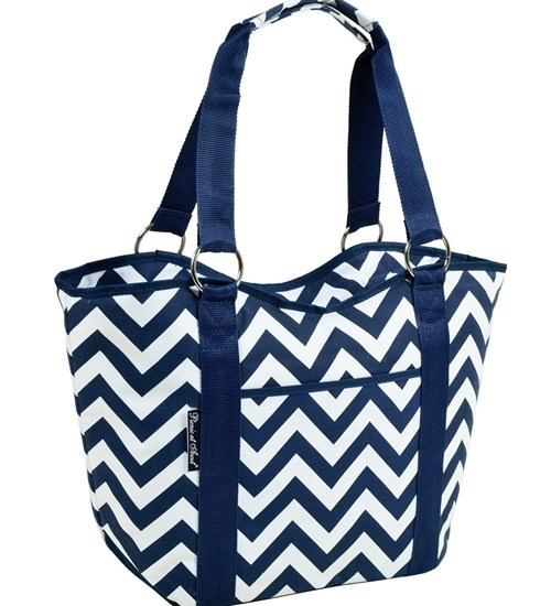 Picnic at Ascot 538-SCB Scoop Top Cooler Tote