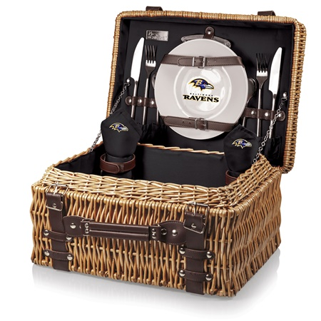 Baltimore Ravens Champion Picnic Basket