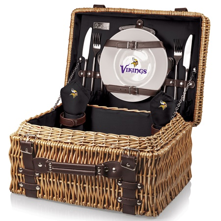 Minnesota Vikings Champion Picnic Basket