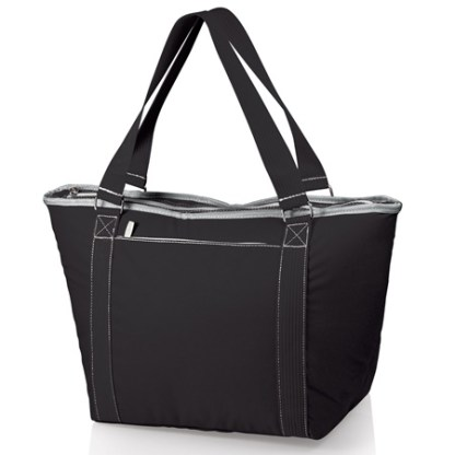Topanga Large Insulated Cooler Tote Black