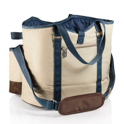 Wine Country Insulated 2 Bottle Cheese Tote