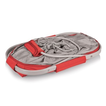 Picnic Time Metro Red Collapsible Basket