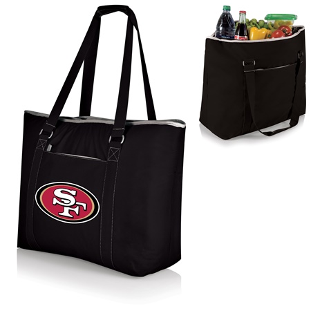 San Francisco 49ers Tahoe Extra Large Insulated Tote Black