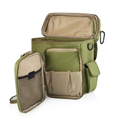 Turismo Olive Insulated Cooler Backpack