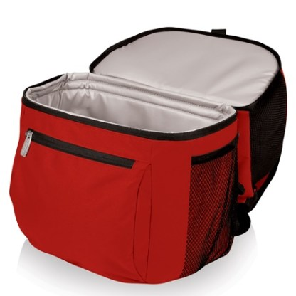 Zuma Red Insulated Cooler Backpack