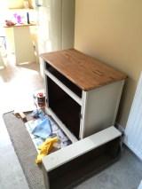 workbech old on welsh dresser