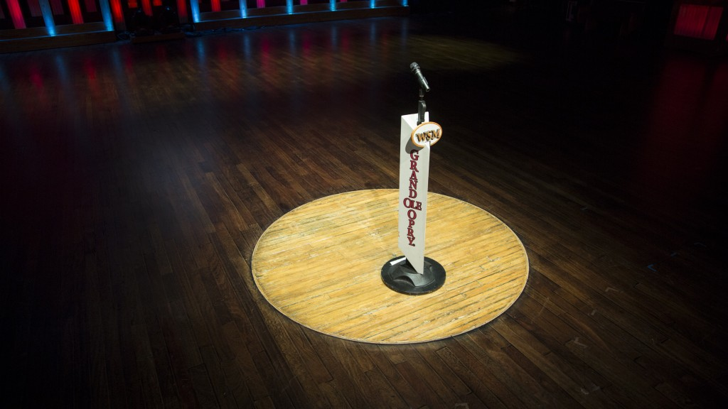 Image result for circle on stage in grand ole opry in nashville