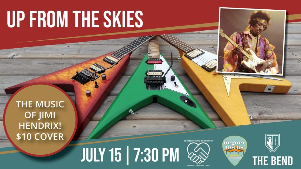 up from the skies, regner rocks, bend theatre