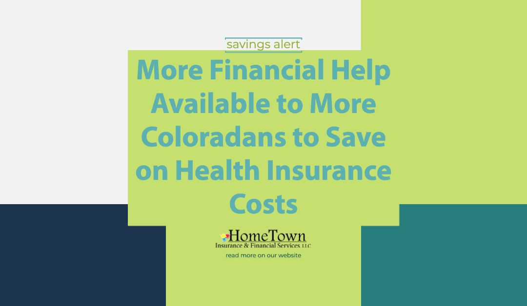 More Savings on Health Insurance Costs for Coloradans