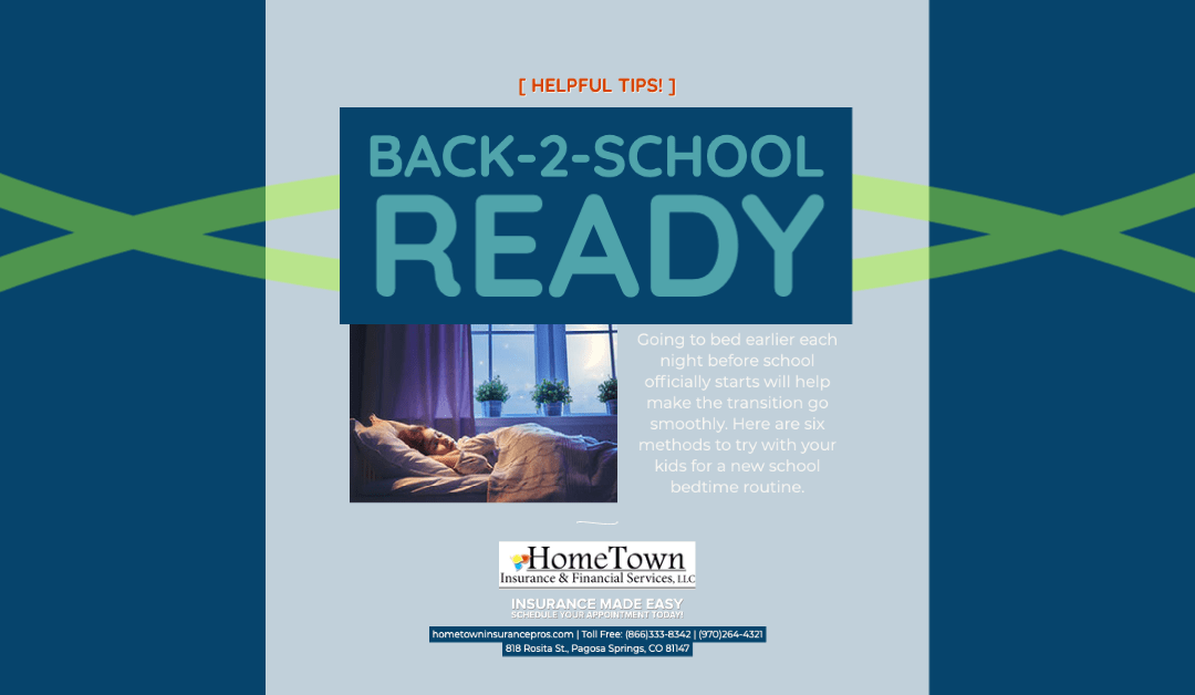 Six Sleep Themed Tips for Easing in to Back-2-School