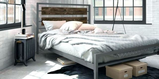 03 Industrial Look Bedroom Ideas