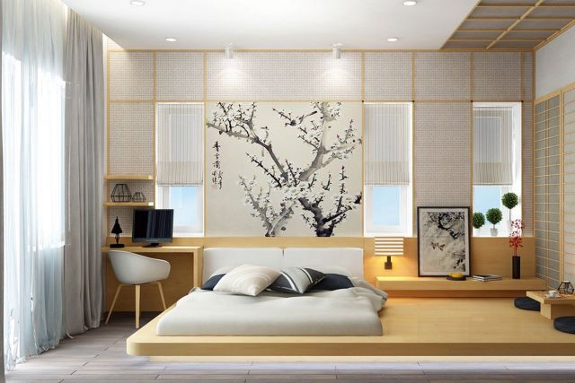 Decorating Ideas Modern Japanese style bedrooms 2