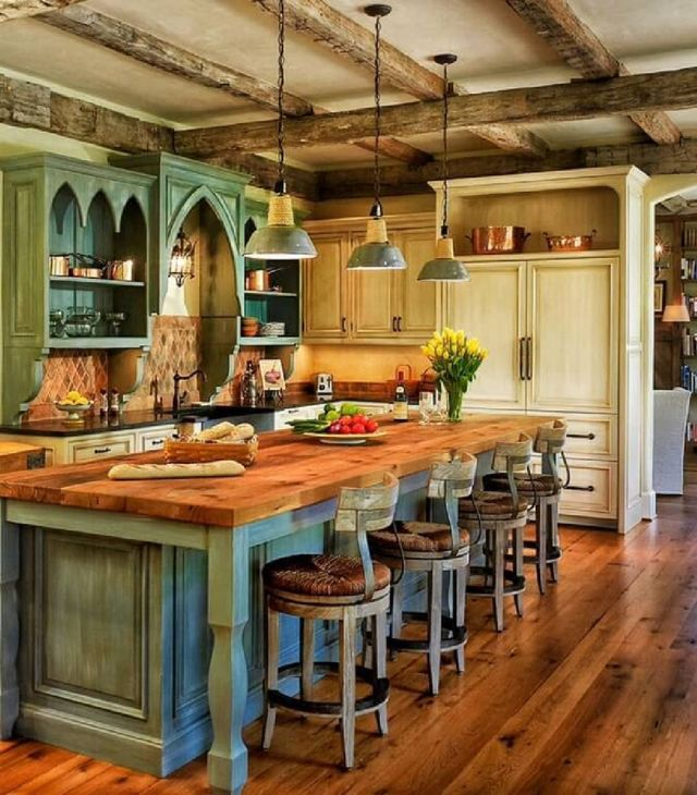 04 Mediterranean Style Kitchen Ideas for 2019