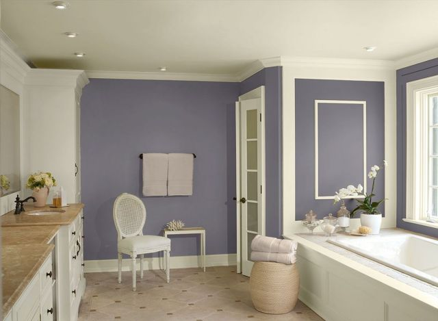 Wall Paint Color Combination Ideas For Bathrooms 5