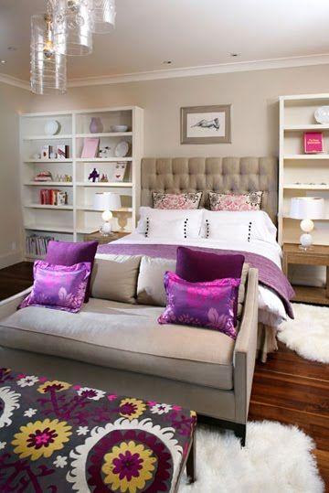Purple Shabby Chic Bedroom Ideas