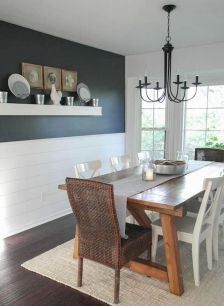 Enhance Dinning Room With Farmhouse Table 34