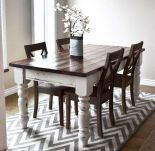 Enhance Dinning Room With Farmhouse Table 43