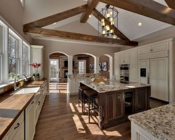 Wood Kitchen Cabinets An Investment to Awesome Kitchen 49