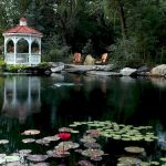 Enjoy the Peace and Serenity with Backyard Pond Decor 92