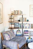 50 ++ Amazing Living Room Designs With Floating Shelves 132