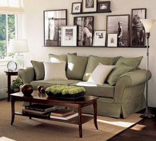50 ++ Amazing Living Room Designs With Floating Shelves 108